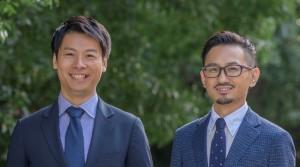 (左) CEO 加茂雄一  (右) CTO 池田裕樹